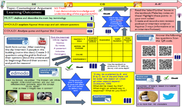 Differentiated learning mats